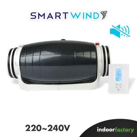 Extracteur d'air Smart Wind 200MM (Europe 220v)